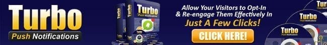 Turbo Push Notifications Banner 650x90